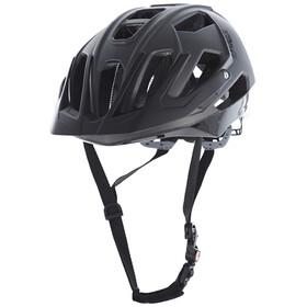 UVEX Quatro Helmet darksilver mat-black